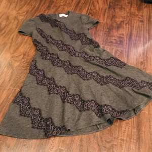 Anthro Eliza J fit and flare skater dress lace